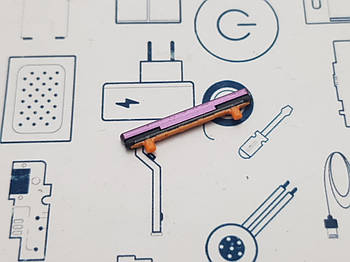 Кнопка громкости Samsung Galaxy S9 SM-G960F Lilac Purple Сервисный оригинал с разборки
