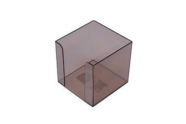 Куб для паперу АРНІКА бокс 90х90х90мм Jobmax димчастий 83031