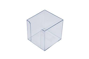 Куб для бумаги АРНИКА Jobmax 90х90х90мм прозрачный (83032)