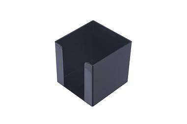 Куб для паперу АРНІКА бокс 90х90х90мм Jobmax чорний 83033