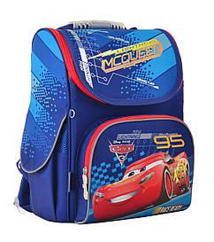 Рюкзак шкільний 1 Вересня каркасний відд. для ноутбука Cars 555118