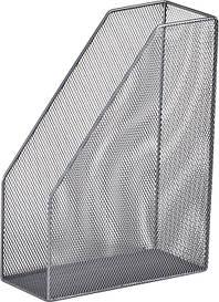 Лоток вертикальний 80х230х300мм металевий срібло