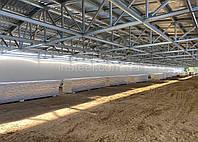 Быстровозводимые складские помещения на 3000 м.кв. «под ключ». Готовое здания для бизнеса за четыре месяца.