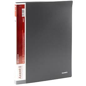 Папка з файлами Axent А4 дисплей-книга 20 файлів сіра 1020-03-А