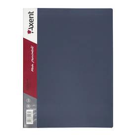 Папка з файлами Axent А4 дисплей-книга 30 файлів сіра 1030-03-А