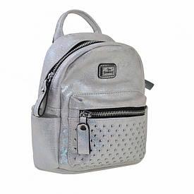 Сумка-рюкзак YES, серебро, 17x20x8см (553231)