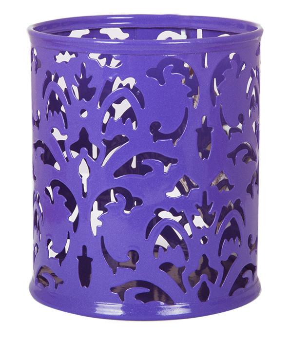 """Подставка для ручек Barocco"""" 83х100мм металлическая фиолетовый"""
