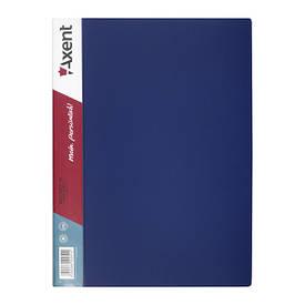 Папка з файлами Axent А4 дисплей-книга 60 файлов синя 1060-02-А