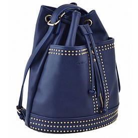 Сумка - рюкзак YES, темно-синій, 30x27x15.5
