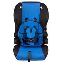 Автокресло детское бустер WM-801 Blue 1-12 лет (1-36 кг)