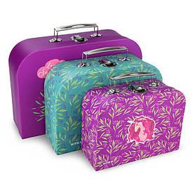 Набір валіз 3 шт. (SML), картон, Lovely Sophie (K20-189)
