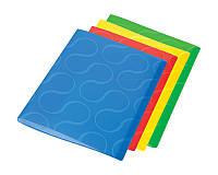 Папка с файлами Panta Plast файла А4 20 шт микс 4ре цвета OMEGA (0410-0032-99)