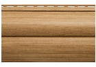 Блок хаус Альта- Профіль КАРЕЛІЯ ГОРІХ вініловий пластиковий сайдинг, фото 5