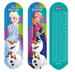Закладка для книг 1 Вересня Frozen 2D (706933)