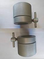 Замки олімпійські професійні з дожимом 2 шт по 2.5 кг для штанги (сталь затискачі фіксатори на гриф 50 мм)