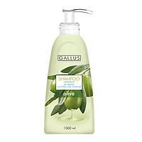 Шампунь для волосся з кератином Gallus Olive (оливка) 1 л