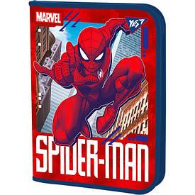 Папка для труда  YES пласт. на молнии FC ''Marvel''