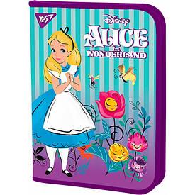 Папка для труда  YES пласт. на молнии FC ''Alice''