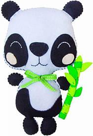 Набір створи іграшку Rosa Kids з фетру панда Коді (4823098501039)