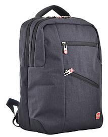 Рюкзак молодіжний Yes USB port Biz чорний 555398
