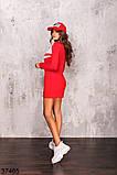 Женское спортивное платье на змейке р. 42-44, 46-48, фото 2