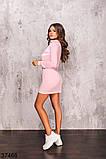 Женское спортивное платье на змейке р. 42-44, 46-48, фото 3