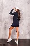 Женское спортивное платье на змейке р. 42-44, 46-48, фото 6