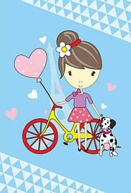 Набір картина за номерами Rosa Kids для юного художника Малювалка Сонячна прогулянка 20х30см (4823086