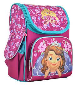 Рюкзак шкільний 1 Вересня каркасний відд. для ноутбука Sofia rose 555168