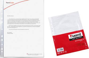 Файл Axent А4 глянцевий 40мкм 100шт 2004-00-А
