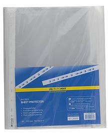 Файл прозорий Buromax А4+ 100шт 50мкм BM.3815