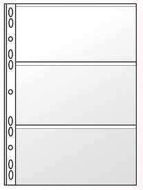 Файл для банкнот PANTA PLAST А4 11отв. PVC 0312-0004-00