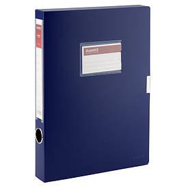 Папка коробка Axent А4 36мм синя 1736-02-А