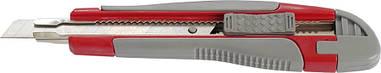 Нож канцелярский Axent 9 мм метал направл резвставки трафаретный 6701-А