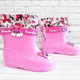 Гумачки для дівчат (демо) рожевого кольору. Розмір: 27-32