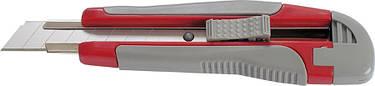 Нож канцелярский Axent 18 мм метал направл резвставки трафаретный 6702-А