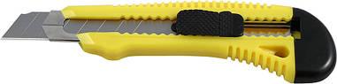 Нож канцелярский Axent 18мм желтый трафаретный D6622-02