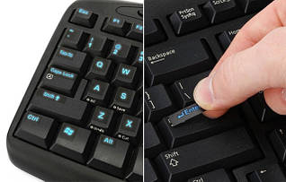 Наклейки на клавіатуру