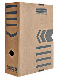 Бокс для хранения документов архивный Buromax 100 мм для архивации крафт Jobmax (BM.3261-34)