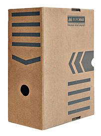 Бокс для хранения документов архивный Buromax 150 мм для архивации крафт Jobmax (BM.3262-34)