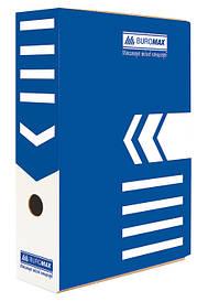 Бокс для хранения документов архивный Buromax 80 мм для архивации синий (BM.3260-02)