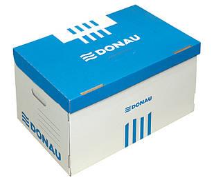 Короб для архивных боксов Donau синий (7666301PL-10)