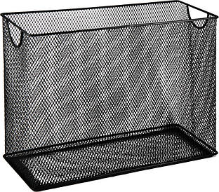Бокс для подвесных файлов Buromax металл 315x140x245мм картотека черный (BM.6236-01)