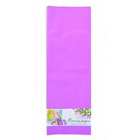 Плівка для упаковки і декорування, бузковий, 60х60см, 10 аркушів.