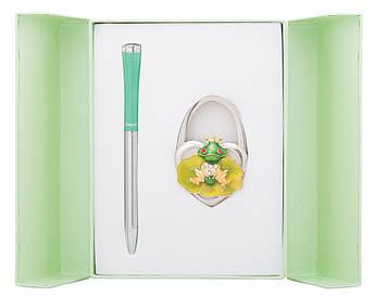 Набір подарунковий Fairy Tale: ручка кулькова + гачок д сумки зелений