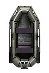 Надувная гребная двухместная лодка из пвх Л240ТСП