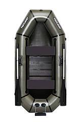 Надувная гребная двухместная лодка из пвх Л240СПТУ