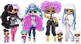 L.O.L. Surprise! O.M.G. Winter Disco Cosmic Nova Fashion Doll & Sister Кукла ЛОЛ ОМГ Зимнее диско Леди Галакти, фото 4