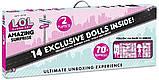 Оригинал Мега набор Лол Удивительный Сюрприз LOL Surprise Amazing Surprise with 14 Dolls 70 Surprise, фото 6