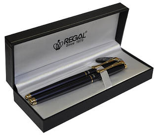 Набор ручек П+Р Regal черный в подарунковому футляре L жемчужно-чёрный (R12216.L.RF)